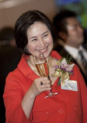 'Party girl' Pansy Ho: Executives in Hong Kong say she's 'a very shrewd businesswoman' and a 'first-class choice' as a ...