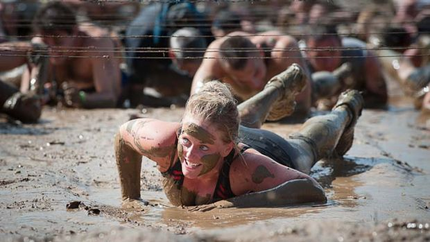 Sydney's Tough Mudder event back in April.