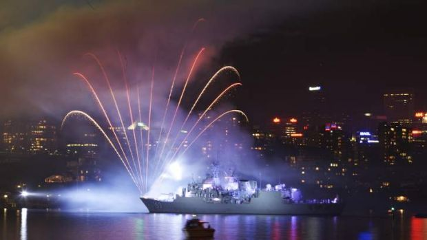 International Fleet Review: 'a glorification of war'?