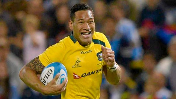 Express yourself: A back to basics approach worked wonders for the Wallabies, epitomised by Israel Folau's three-try ...