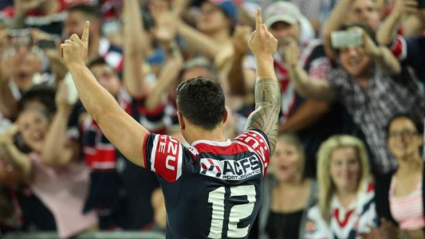 """I said to the boys that I'm going to wipe that first half, and I'm going to go out and play for them"": Roosters star ..."