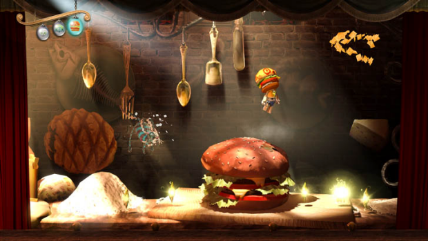 Puppeteer: it's not every day you control a character with a hamburger head.