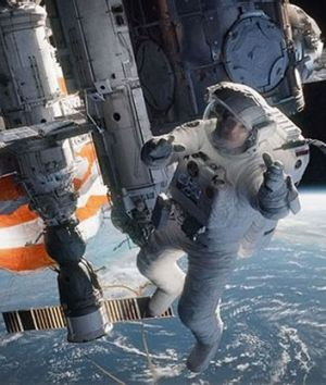 'The whole idea of that opening scene [of Gravity] was to create the reality that you're accustomed to seeing in an IMAX ...