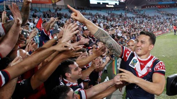 Life in a bubble: Sonny Bill Williams is a big fish in the small pond of the NRL.