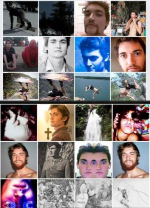 The villain with a thousand faces: alleged Silk Road kingpin Ross William Ulbricht.