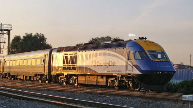 "The Countrylink XPT, short for ""express passenger train""."