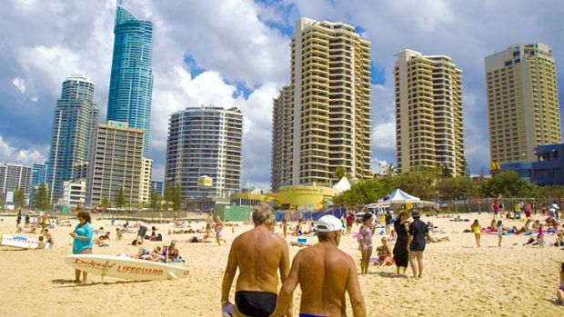 Cloudy outlook: Real estate prices in so-called 'lifestyle markets' like the Gold Coast have been struggling in recent years.