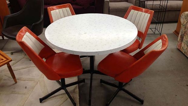 Retro furniture available from new Salvos online store.