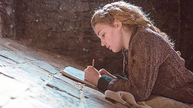 Sophie Nelisse stars as Liesel Meminger in <i>The Book Thief</i>.