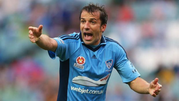 No going back: Del Piero was often frustrated last season as his individual brilliance was not matched by his teammates, ...