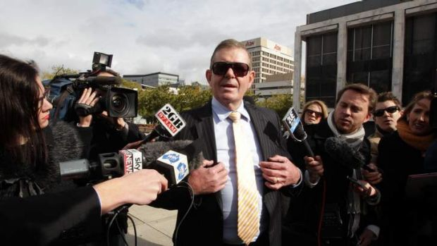 "Charged with ""general dishonesty"": Peter Slipper."