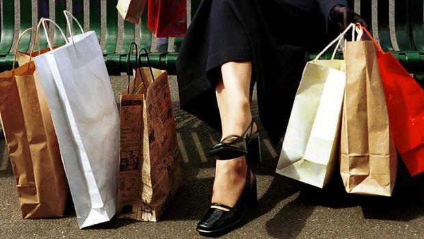 Consumers are showing confidence and spending more.