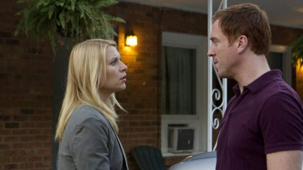 Depths: <i>Homeland's</i> Carrie and Brody.