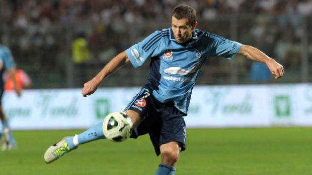 Sydney FC's Brett Emerton is in doubt for Friday's clash with Newcastle.