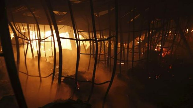Aswad fire: A garment factory in the Bangladeshi town of Gazipur burnt down on Tuesday night.