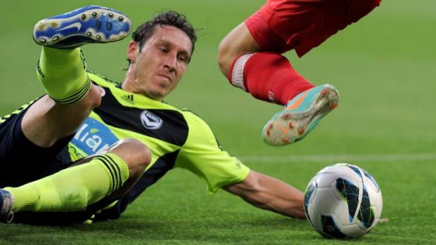 Socceroo Mark Milligan is one of only two current A-League players in the squad that will take on France on Saturday morning.