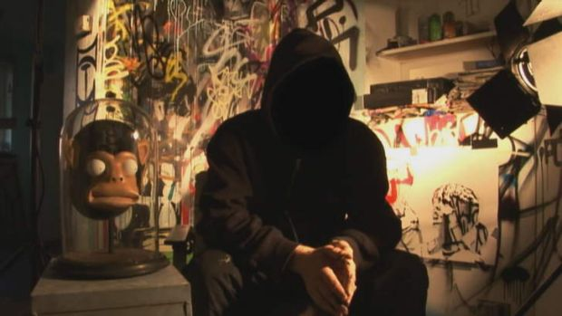 Banksy starred in the documentary <i>Exit Through The Gift Shop</i>, but we still didn't see his face.