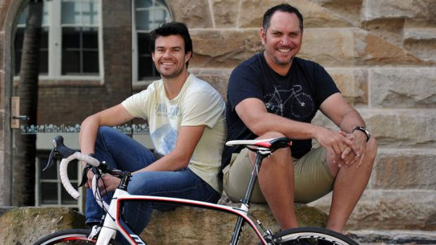 """""""We try to solve the world's problems"""" … Ben Bowen and Sean Apoo."""