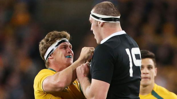 Michael Hooper is ready to mix it with the All Blacks again.
