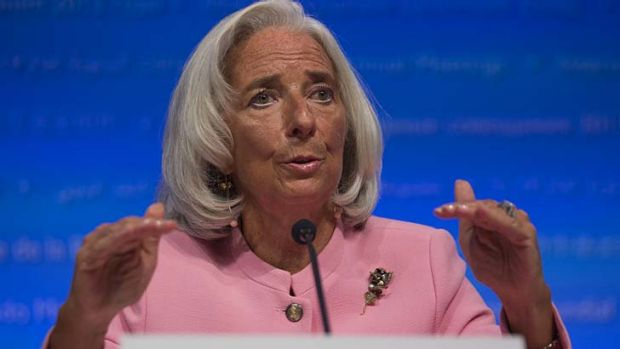 'Very negative consequences': Christine Lagarde speaks in Washington, D.C.