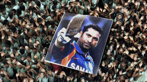 Sachin Tendulkar achieved a god-like status in India.