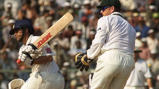 Sachin Tendulkar's hundred led to an eventual Indian victory by two wickets in the deciding Test in 2001.