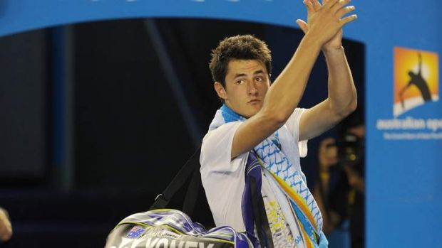 Rod Laver admitted he was concerned about what goes on around Tomic.