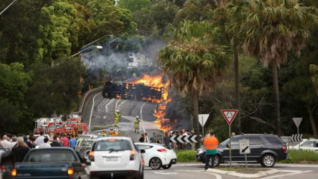 Inferno: The Mona Vale crash.