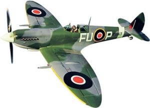A Spitfire from the Temora Aviation Museum in NSW.