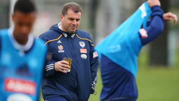 Man for the job? Victory coach Ange Postecoglou has been the standout Australian coach over the last few A-League seasons.