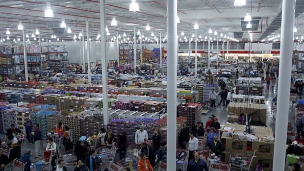 Costco at Lidcombe.