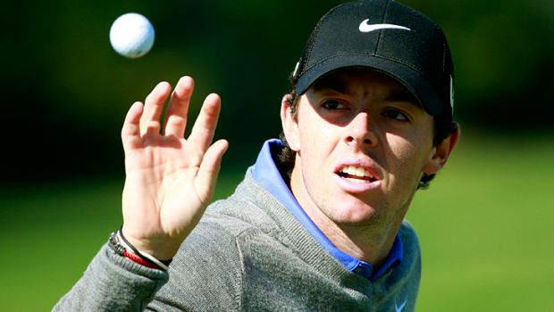 Out of sorts: McIlroy at the BMW Championship in September.