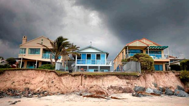 More than a quarter of a million Australian homes could be at risk from rising sea levels, according to a leaked IPCC ...
