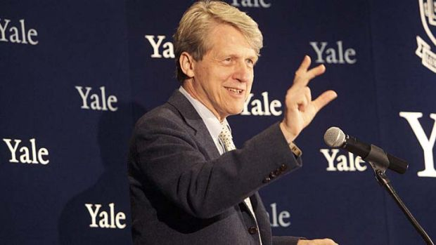 "Yale professor Robert Shiller believes many countries are ""looking bubbly""."