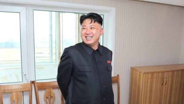 North Korean leader Kim Jong-un. His regime has been accused of experimenting on prisoners with chemical weapons.