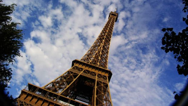Iconic: The Eiffel Tower in Paris, France.