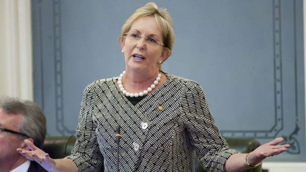 Former Newman government minister Ros Bates.