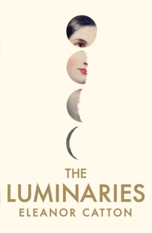 The Luminaries cover designed by Australian Jenny Grigg for the British/Australian edition.