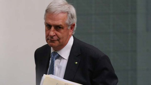 Don Randall: repaying the money for his taxpayer-funded trip to Cairns.