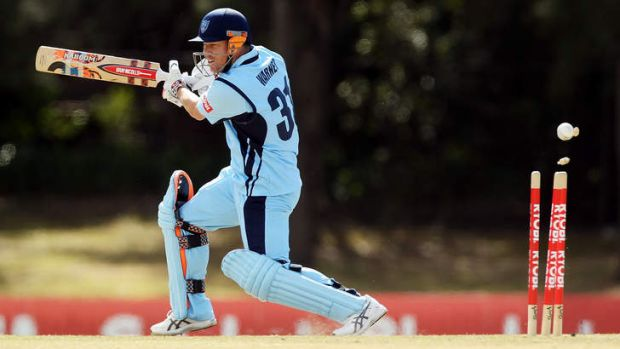 David Warner has been struggling for form recently with NSW in the Ryobi Cup.