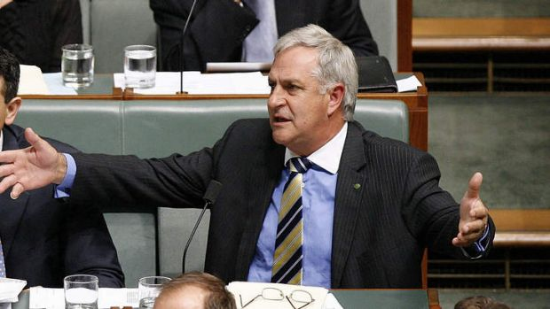 Liberal member for Canning, Don Randall, pictured during question time in 2009, came under fire for having claimed more ...