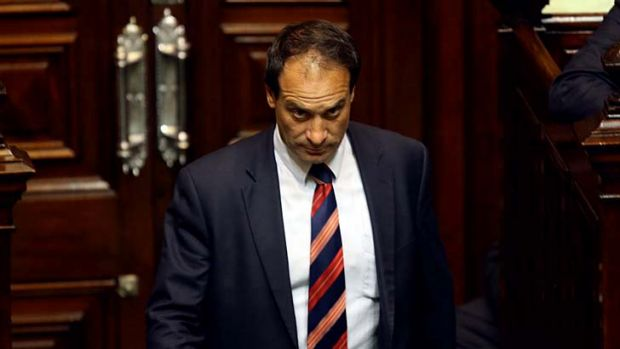 Frankston MP Geoff Shaw's vote keeps the Liberals in power.