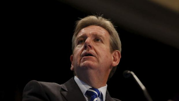 """Barry O'Farrell: """"We will hold the Commonwealth to the agreement we signed."""""""