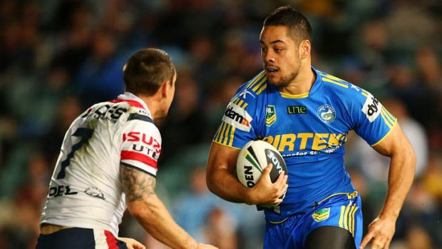 """""""Exciting news"""": Parramatta star Jarryd Hayne is looking forward to working with Brad Arthur again."""