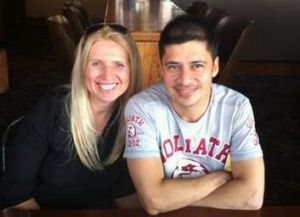 """We decided to move on"" … Carolyn and Saul Martinez."