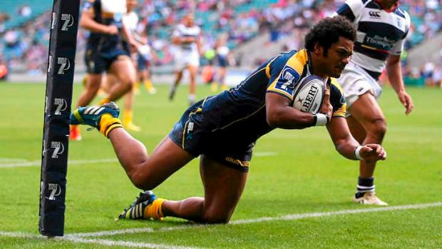 Henry Speight of the Brumbies.