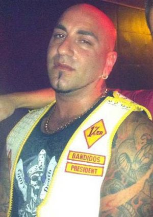 Anthony Toumpas - Bandidos' Brisbane West End president