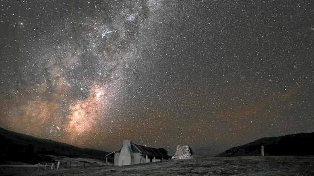 The Milky Way rises in the NSW sky..