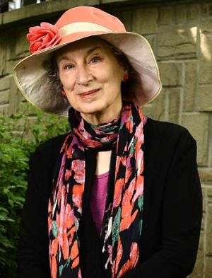 In print: Margaret Atwood has finished her trilogy of what she calls ''speculative fiction''.