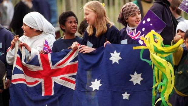The report found Australians' support for multiculturalism remained high.